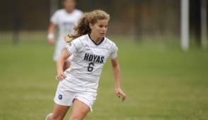 Georgtown Soccer Player Daphne Corboz Up for Major College Sports Award