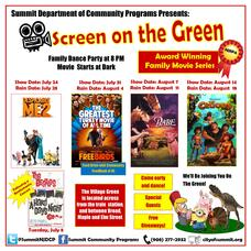 Screen on The Green - Schedule