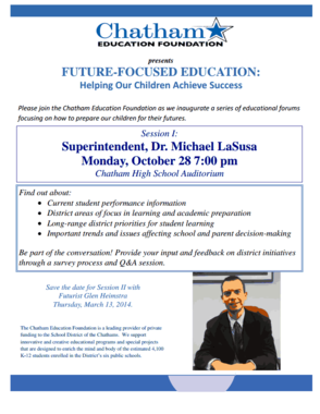 Future-Focused Education Forums Scheduled by the Chatham Education Foundation, photo 1