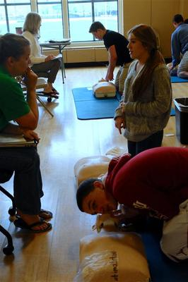 CPR at LHS