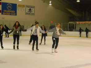 Community Enjoys Gov. Livingston Varsity Hockey Holiday Skate , photo 3