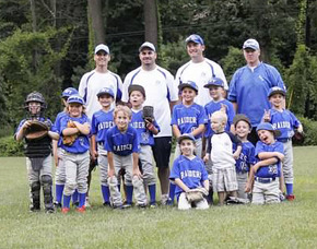 SPFBL 7U plays for the 8U Championship on Wednesday