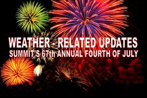 Daytime Activities Cancelled for Summit 4th , photo 1