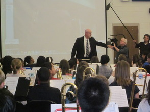 Randolph Middle School Sixth-Grade Band to be on NJ Network 'Classroom Close-up' in March, photo 2