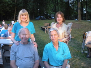 Howard and Dottie Pottruck with Betty and Charles Ruben