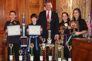 Westfield Mayor Congratulates Karate N Motion's 'National Champions', photo 1
