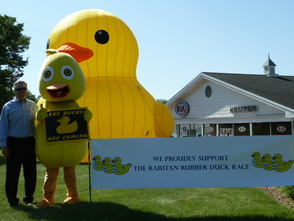 Raritan RiverFest Duck