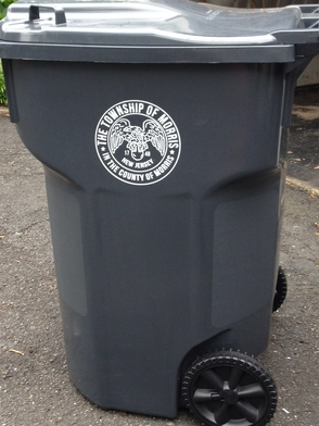 Morris Township Residents Receive New Trash Carts, photo 1