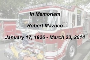Former Berkeley Heights Fire Chief Robert Mazuco Dies at Age 88, photo 1