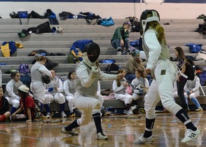 Randolph Achieves Success in Annual County Fencing Tournament, photo 3