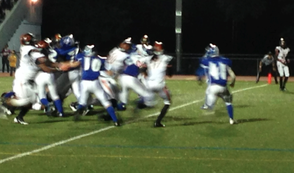 Millburn High School Football Team Soundly Defeated By Orange, photo 1