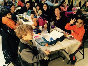 Unity Charter School Brings Parents to Lunch, photo 8