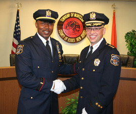 Lt. Wilhelm Young and Chief Sabagh