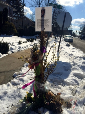 roadside memorial