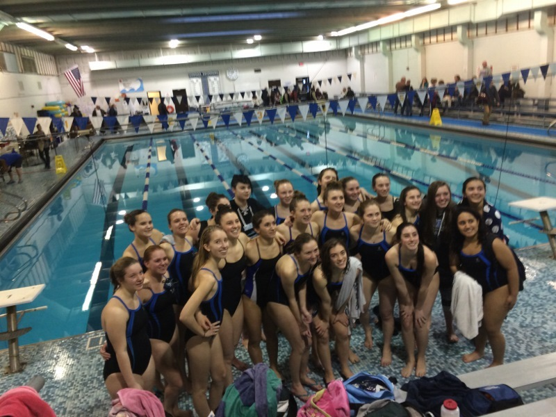 Sparta High School Swimming Girls Win First Round In State Tournament News Tapinto