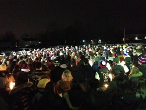 "Community Holds Candlelight Vigil to Remember New Providence's Victoria A. ""Tori"" Crisafi, photo 1"