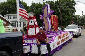 Award winning Elks of NJ Float
