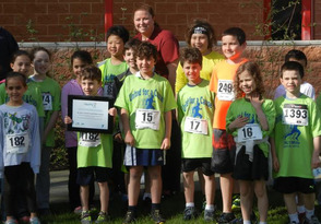 McGinn students learn about living healthy lifestyles