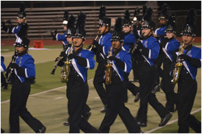 SPF Raiders Marching Band Under The Lights, photo 1