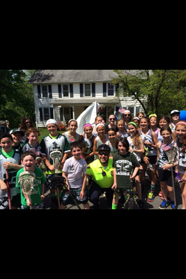 Livingston Lacrosse Club at Parade