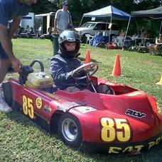 Liam Curran in the 85 Car
