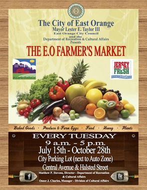 East Orange Farmer's Market Resumes Operation Today, photo 1