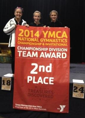 Madison Area YMCA Rosettes Gymnastics Team Place First at Nationals, photo 2