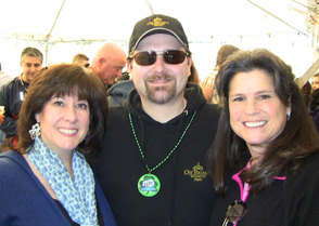 Brian Walter with SPF Music Boosters Grace Cheney and Amy Davies