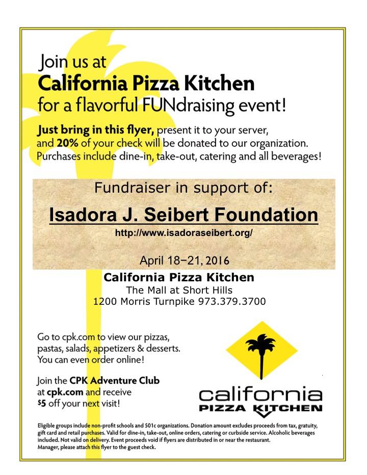 Isadora Seibert Foundation Fundraiser For Gov Livingston