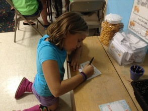 Kaitlyn Knapp Participates in Summer Reading Program