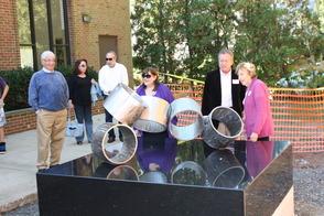 "Art Advisory Unveils Lenny Shapiro's ""Rotare"" Sculpture at the Millburn Public Library, photo 11"