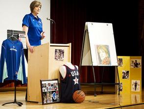 Basketball Hall of Famer Ann Donovan