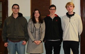 Sparta High School December Students of the Month
