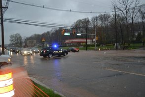 Green Brook Police Respond to Route 22 and Rock Ave Flooding