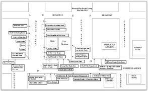 Parade Participant Meeting Locations
