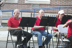 Community Band Entertains Audience on the Lawn of Montclair High, photo 1