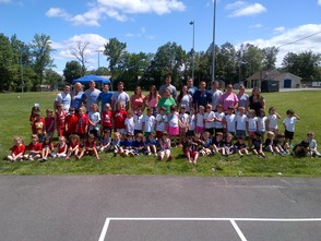 CALC and Clark Pre-School on Field Day