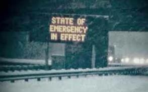 State of Emergency Declared by Governor Christie; Local Government Offices Close, photo 1