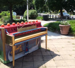 Mysterious Pianos Popping Up Around South Orange, photo 2