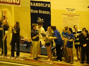 Randolph Boys and Girls High School Swim Teams Enjoy Success in County Tourney; Qualify For States, photo 4