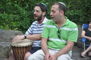 Rabbi Goldstein and Cantor Kintisch