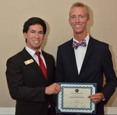 Scotch Plains Freshman Receives Beta Theta Pi Award, photo 1