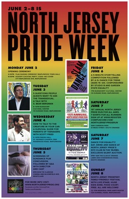 Pride Week 2014 Poster