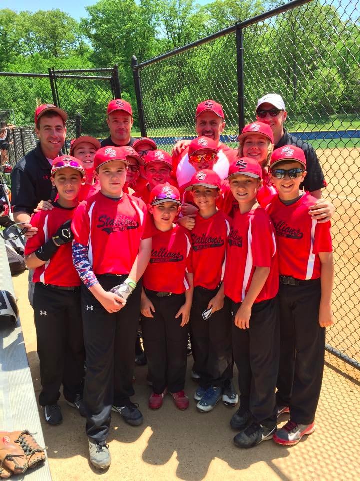 Randolph Stallions 11u Travel Baseball Wins Mt Olive 50
