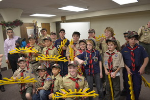 The Weeblo II Cub Scouts of St. Rose of Lima Pack 17