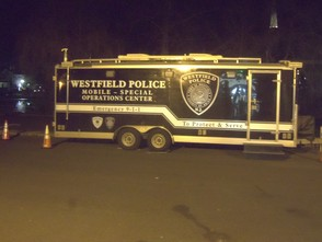 Westfield Police Mobile Command Center