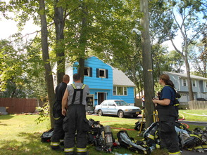 Wash Ave firemen