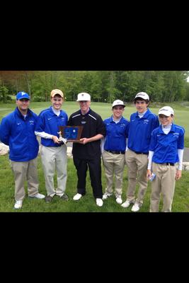 Scotch Plains-Fanwood Boys' Golf Team Wins Sectional Tournament