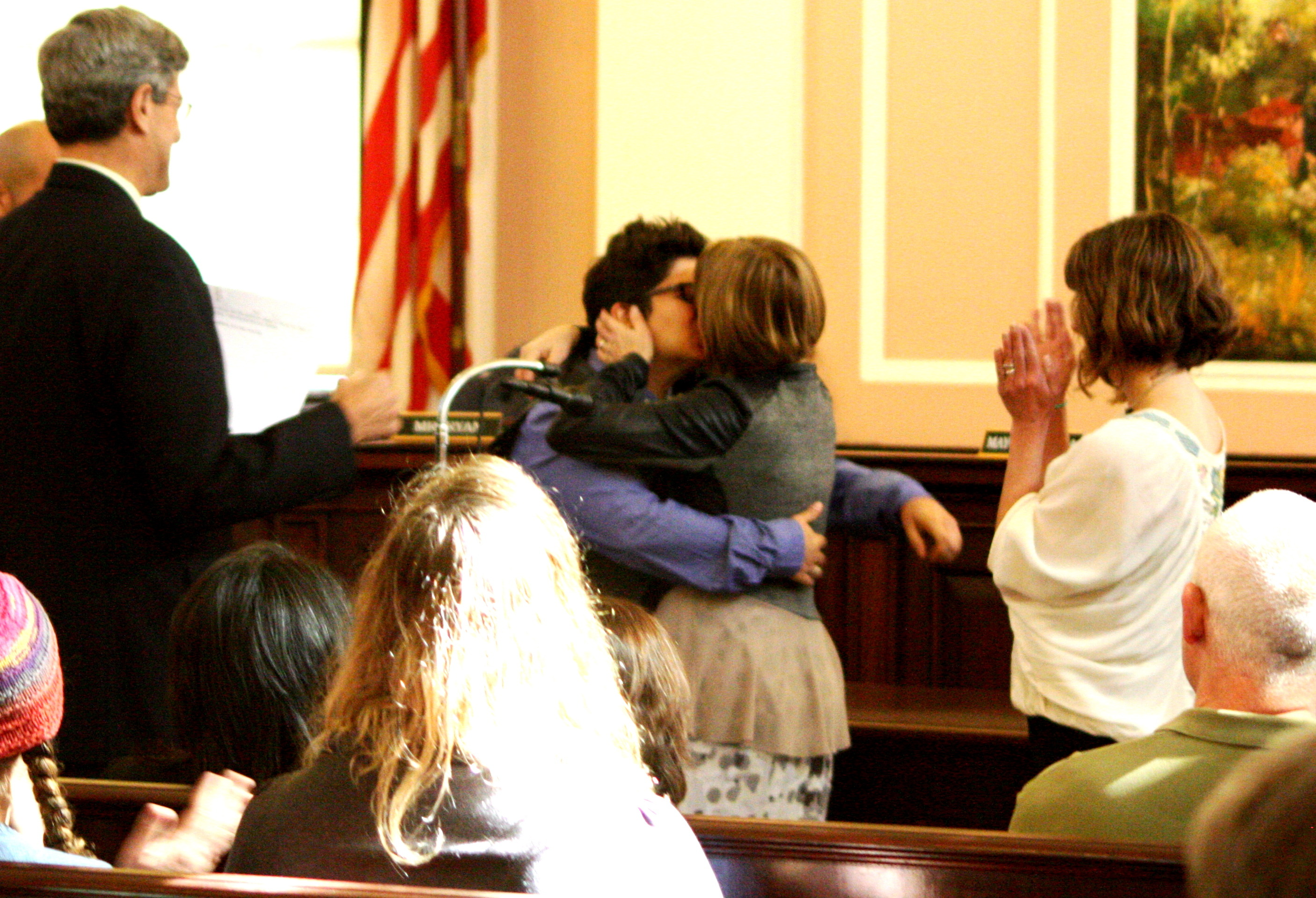 Maplewood's First Same-Sex Marriage Ceremony Performed
