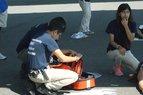 Students Learn EMS Procedures in Mass Casualty Drill, photo 11